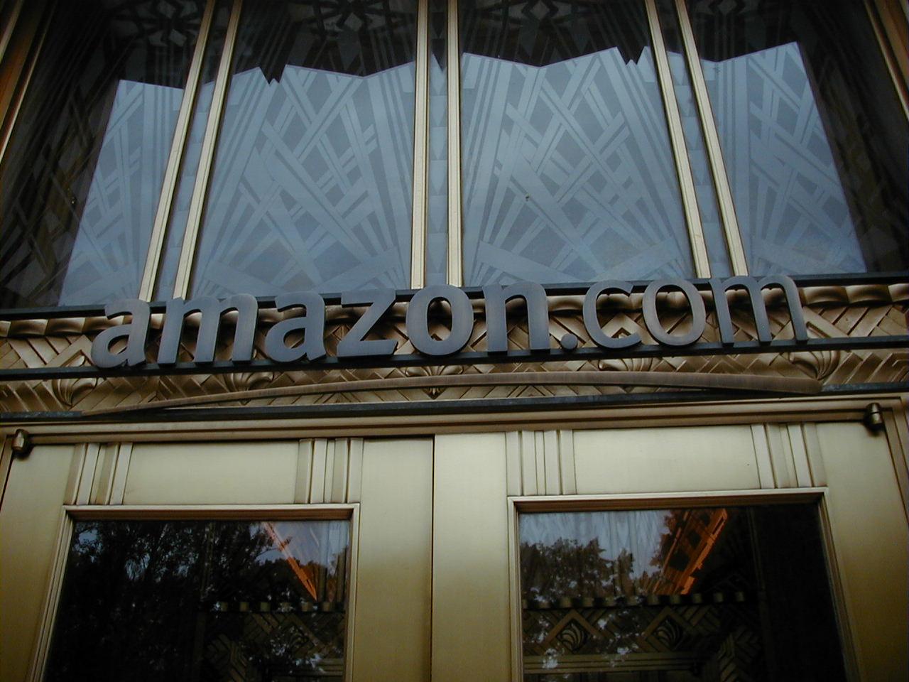 Amazon.com HQ signage