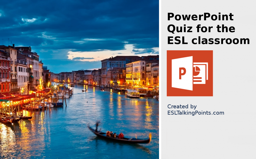 Italy TEFL/ESL/EFL PowerPoint Jeopardy Country Quiz Multiple Choice